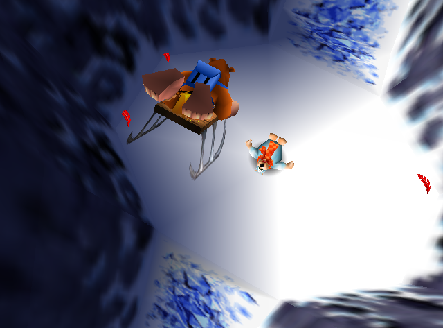 banjo kazooie how to get rid of webs