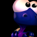 Bloopie the Baby Dinosaur from Conker's Bad Fur Day