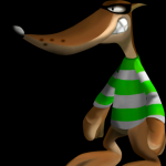 Chicho AKA Mr. Green from Conker's Bad Fur Day