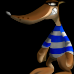 Frankie AKA Mr. Blue from Conker's Bad Fur Day