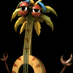 Banjo the Tiki from Donkey Kong Country Returns