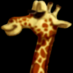 Canopy the Giraffe from Donkey Kong Country Returns