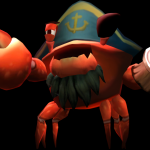 Captain Scurvy from Donkey Kong Country Returns