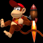 Diddy Kong from Donkey Kong Country Returns
